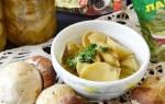 Консервированные грибы рецепты