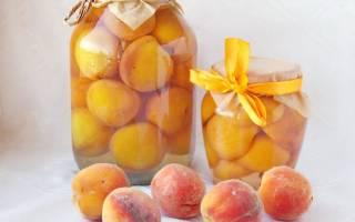 Персики в сиропе консервированные