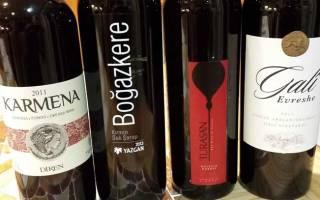 Турецкое вино из дыни
