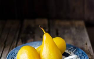 Рецепт груши в сиропе