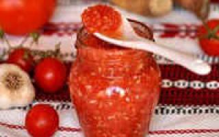Огонек из помидоров