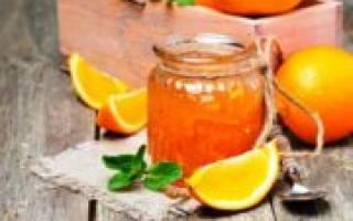 Джем из апельсинов рецепт