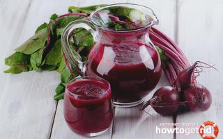 Как выжать сок из свеклы