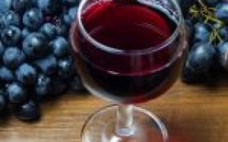Рецепт вино изабелла