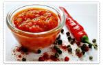 Рецепт кавказской аджики