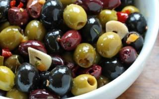 К чему относятся оливки и маслины