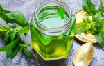 Мятное варенье с лимоном