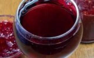 Вино из домашнего варенья рецепт