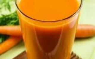 Тыквенный сок с морковкой