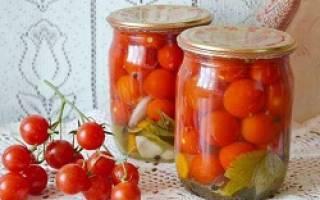 Чери помидоры на зиму