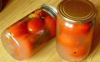 Помутнел рассол в помидорах