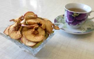 Как посушить яблоки