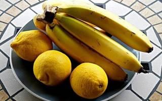 Компот из бананов