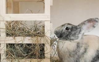 Кормушка для сена кроликам