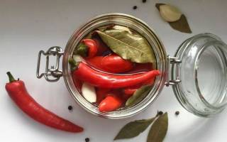Маринованный перец по армянски