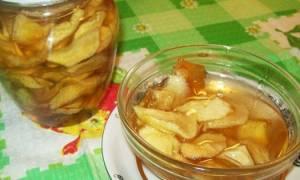 Варенье янтарное из яблок