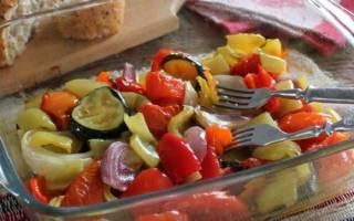 Печеные овощи на зиму